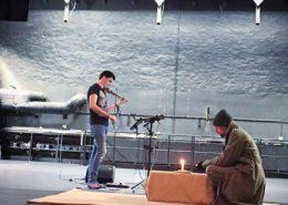 Ian Peaston & Jesper Arin, Rehearsal. Photo: Catarina Jansson