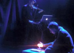 Ian Peaston & Jesper Arin. Beethoven i Stalingrad at Edinburgh Festival Fringe 2015.