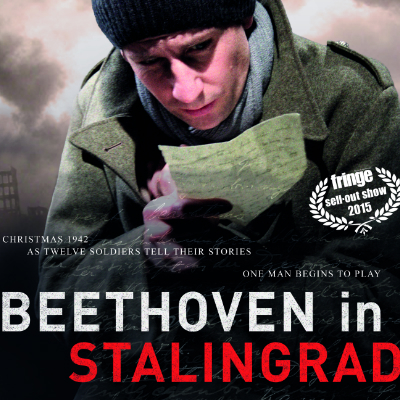 Poster Beethoven in Stalingrad 2017. Anna Sigurdsdotter